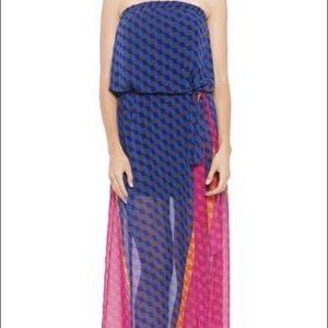 Analili Dresses - ANALILI Strapless lined Maxi Dress with belt Sz XS
